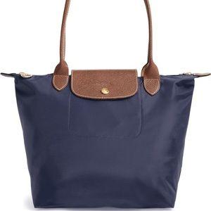 Longchamp Small La Pilage Tote | Cobalt Blue